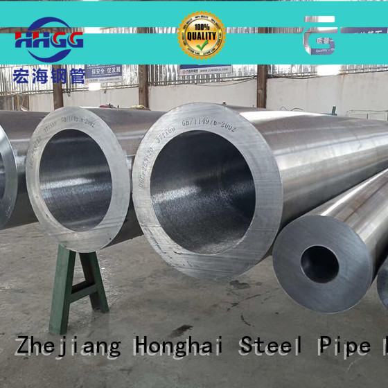 HHGG thick wall stainless steel pipe for business for promotion