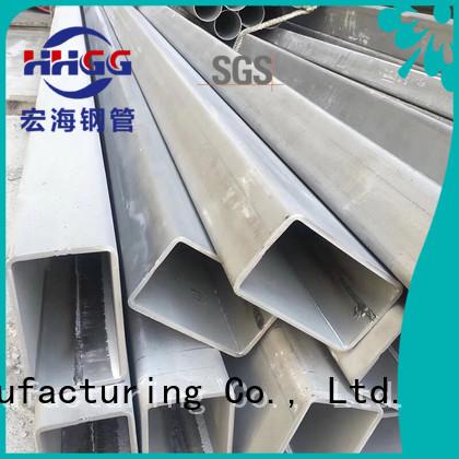 HHGG Custom steel rectangular pipe Supply bulk production