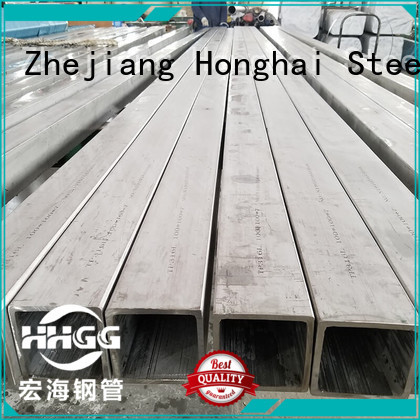 HHGG Top stainless steel square tube manufacturers bulk production