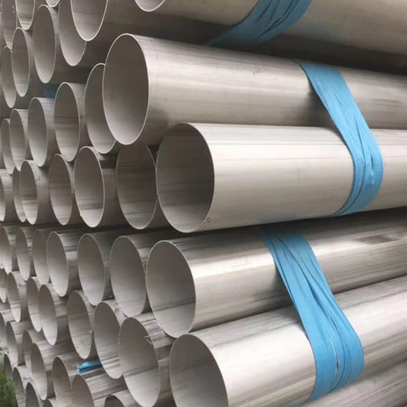 Welded Tube 317 310s/2520 253ma 254smo Stainless Steel Welded Pipe Heat-resistant
