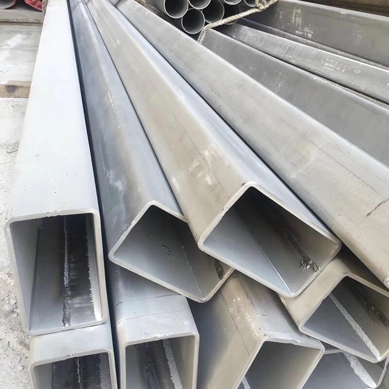 Rectangular Steel Tube Sus304 316 Stainless Steel Rectangular Tubing 321 347