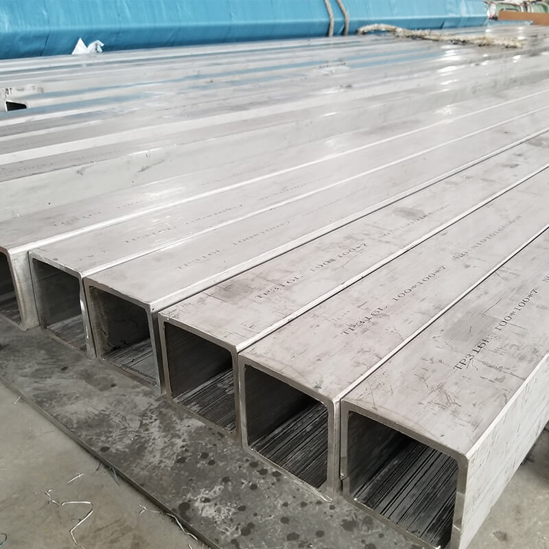 Stainless Steel Square Pipe Tube Sus 304 316 321 347 Square Tubing All Size Available