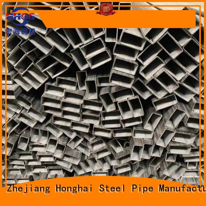 HHGG High-quality stainless steel rectangular tube company on sale