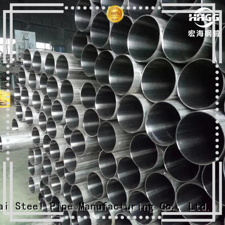 HHGG Wholesale stainless steel welded pipe Suppliers for sale