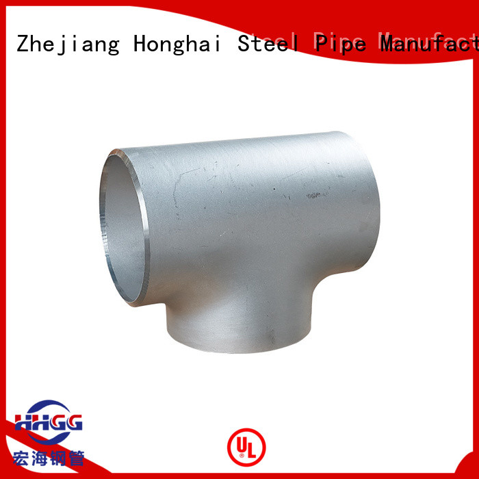 HHGG stainless pipe fittings Suppliers for promotion