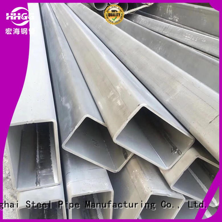HHGG Best 316 stainless steel rectangular tubing manufacturers bulk buy