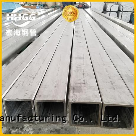 HHGG Custom 304 stainless steel square tube manufacturers bulk buy