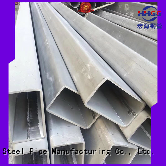HHGG Latest 316 stainless steel rectangular tubing Suppliers for sale