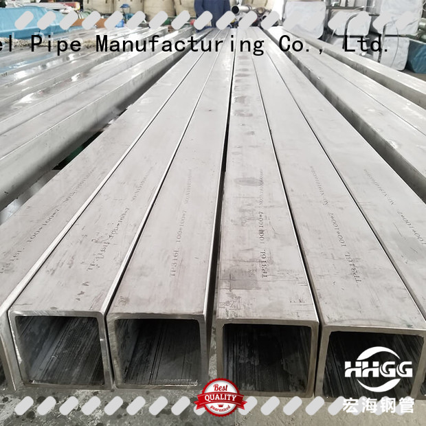HHGG Wholesale square steel tubing manufacturers for promotion