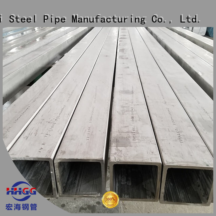 HHGG Wholesale seamless square tubing for business for promotion