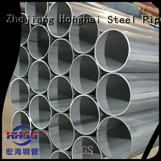 Top welded stainless steel pipe factory for promotion