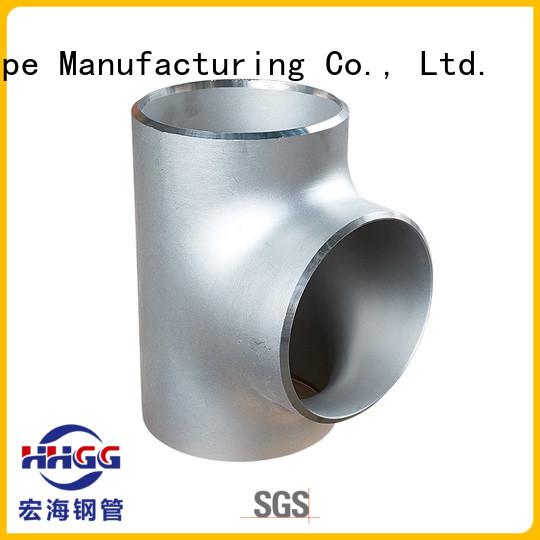 HHGG weldable steel pipe fittings company bulk buy