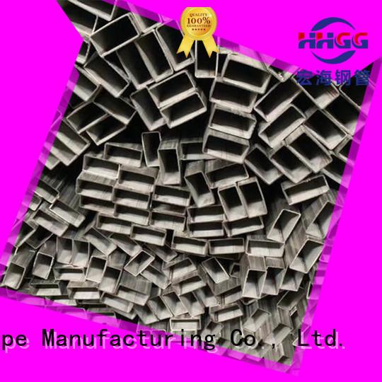 HHGG stainless rectangular tube factory for promotion