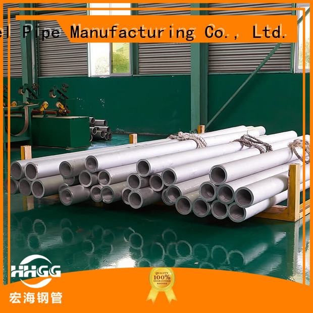 HHGG Latest stainless steel round pipe factory bulk production