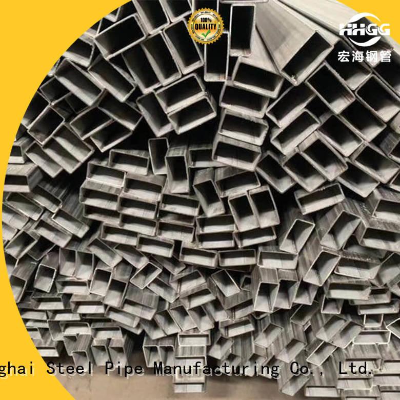 Top ss rectangular tube Supply bulk buy