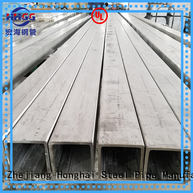 HHGG polished stainless steel square tubing factory bulk buy