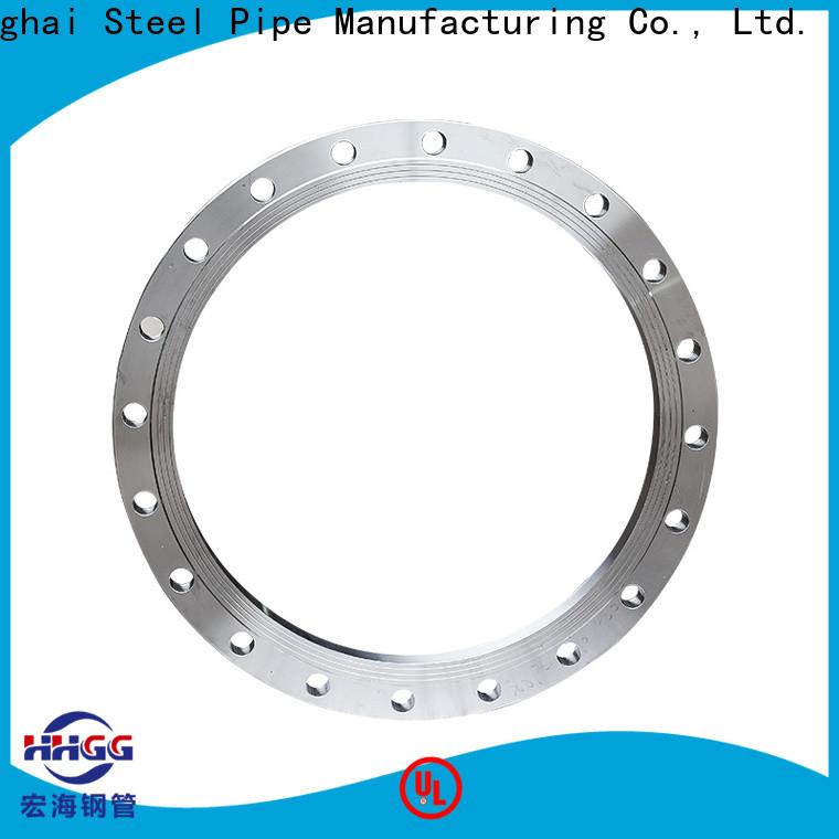 HHGG Custom stainless steel weld flanges company