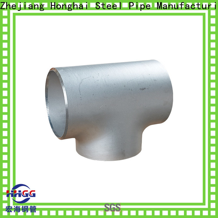 HHGG weldable pipe fittings factory for promotion