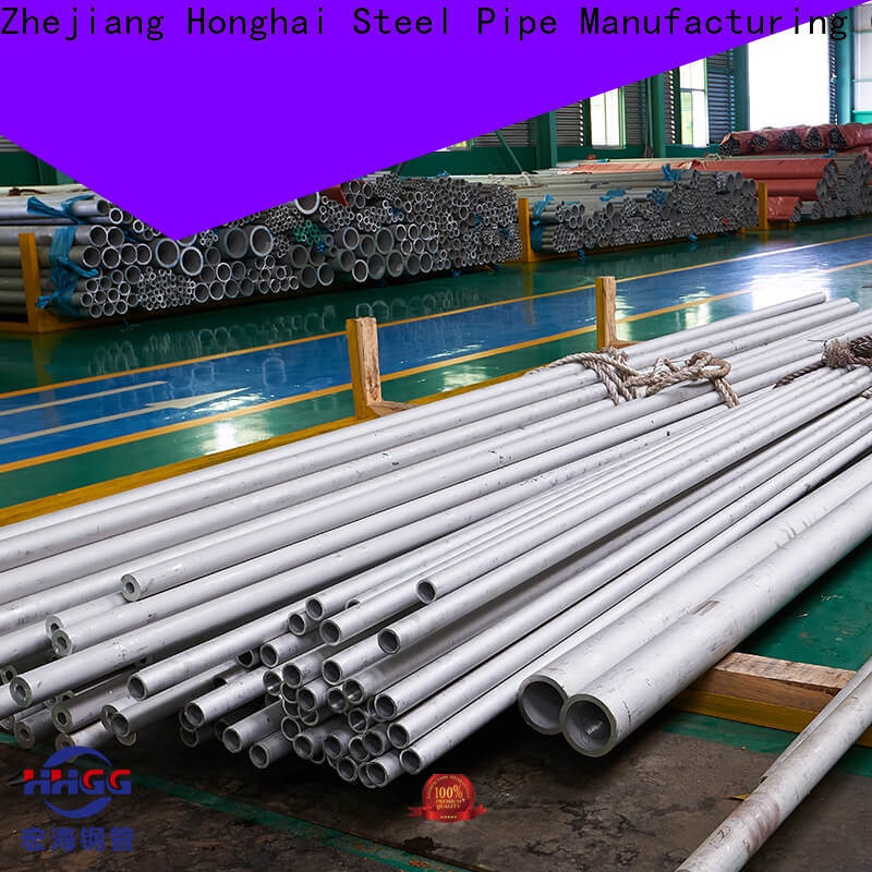 HHGG Best stainless steel seamless pipe manufacturer factory bulk buy