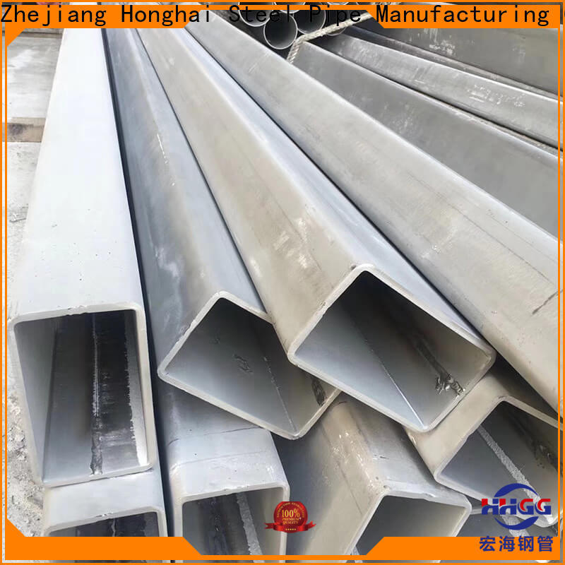 HHGG stainless steel rectangular pipe manufacturers