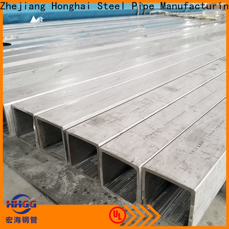 HHGG Wholesale stainless steel square pipe Suppliers for sale