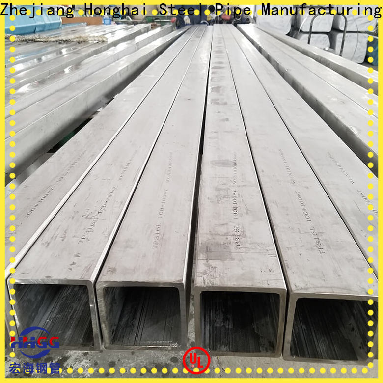 Latest seamless square tubing company for sale