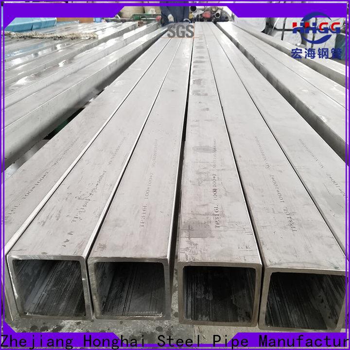 HHGG stainless steel square pipe for business bulk buy