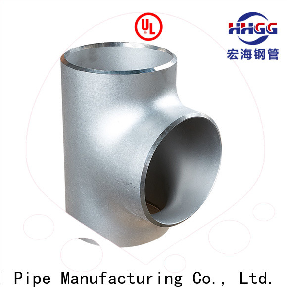 HHGG stainless steel plumbing pipe fittings factory for promotion