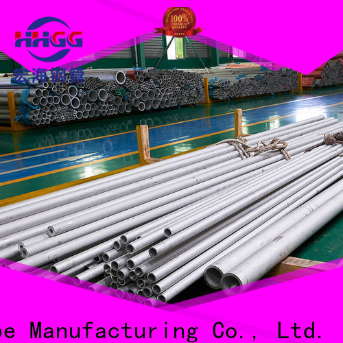 HHGG ss 304 seamless pipe company bulk production