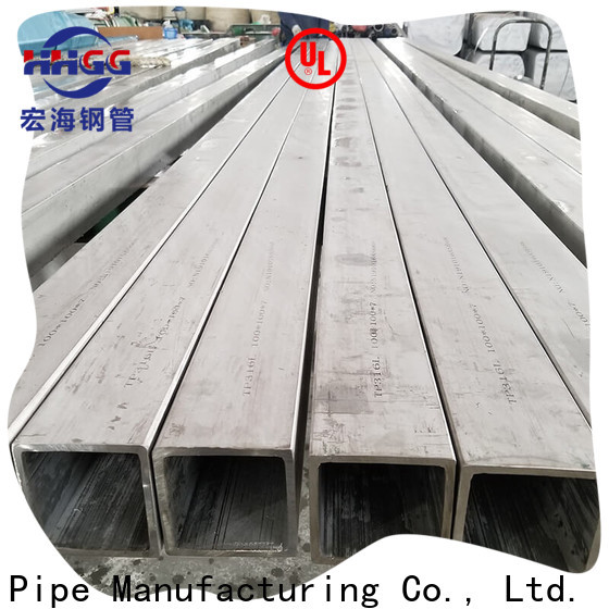 HHGG New stainless square tube suppliers factory for sale