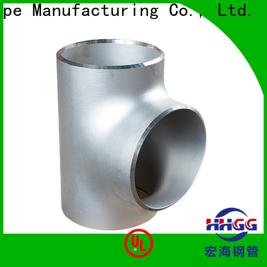 HHGG Custom stainless steel pipe fittings suppliers manufacturers for sale