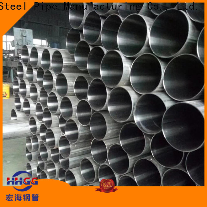 HHGG New stainless steel welded pipe manufacturers manufacturers bulk production