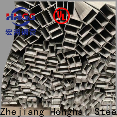HHGG Wholesale rectangular steel tube suppliers factory