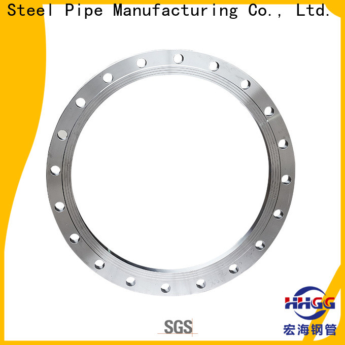 HHGG Top stainless steel threaded flange company bulk production