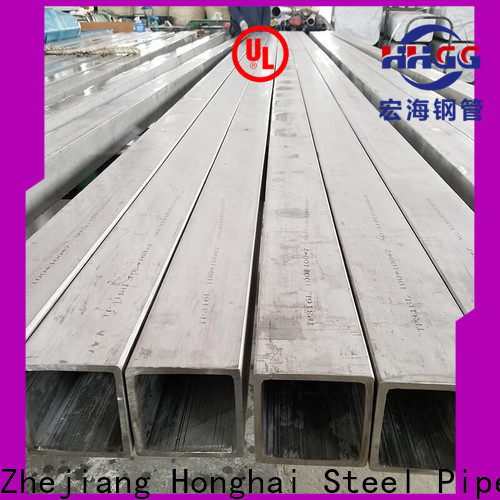 HHGG Top 304 stainless square tubing manufacturers bulk production