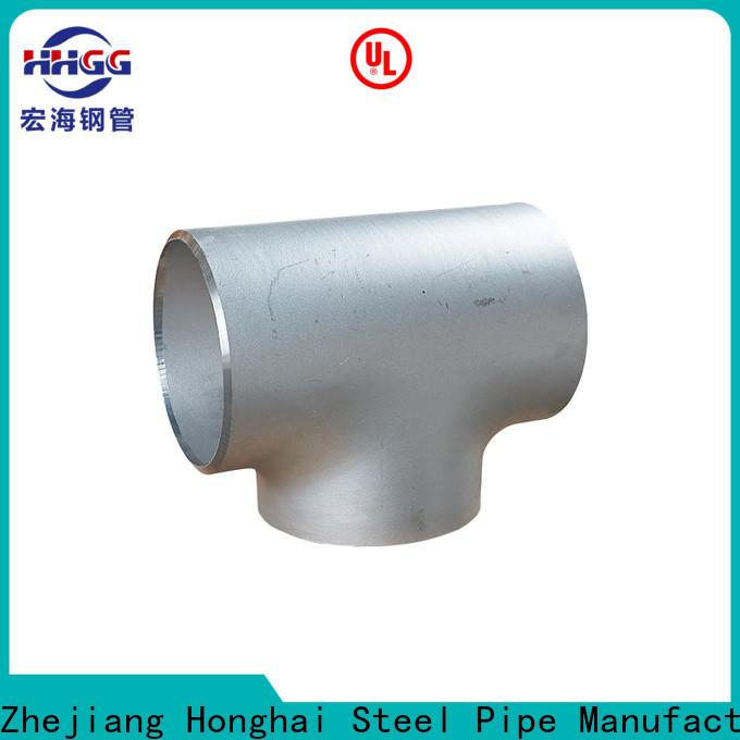 HHGG Custom stainless pipe fittings Supply bulk production