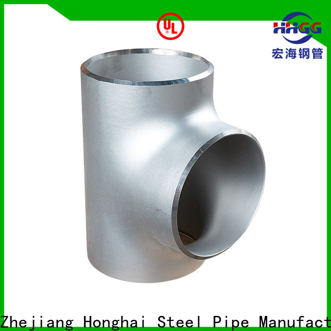 HHGG stainless steel pipe fittings factory