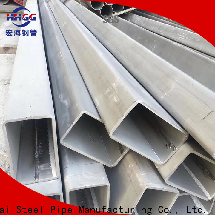 HHGG Latest stainless rectangular tube Suppliers for promotion