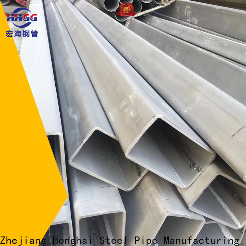 HHGG Latest 316 stainless steel rectangular tubing Supply bulk buy