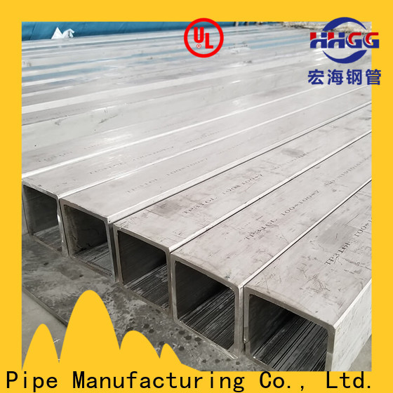 HHGG seamless square steel tubing factory for promotion