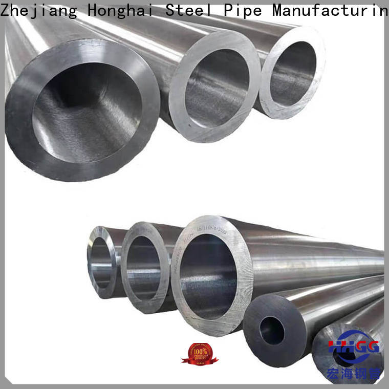 HHGG High-quality seamless stainless steel tubing suppliers company bulk production