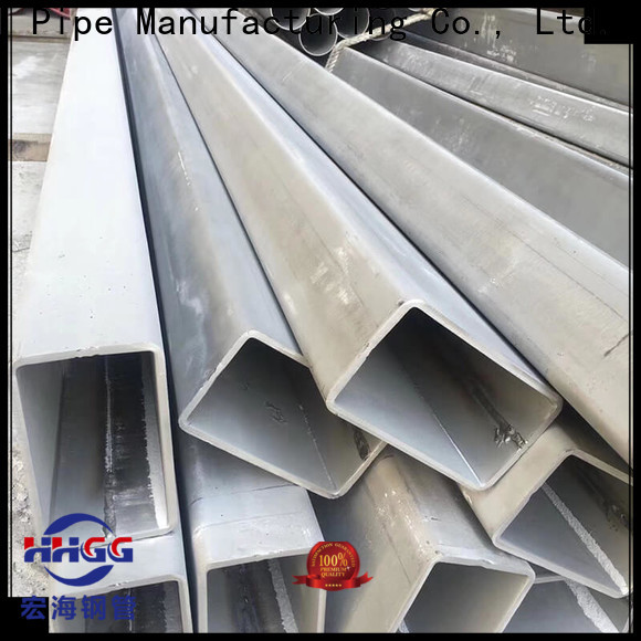 HHGG Top rectangular steel tube suppliers company on sale