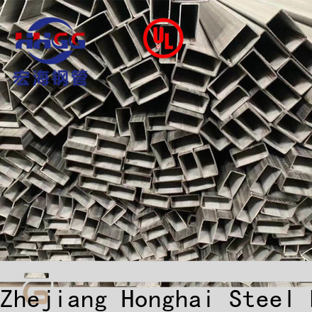 HHGG High-quality stainless steel rectangular pipe for business bulk production