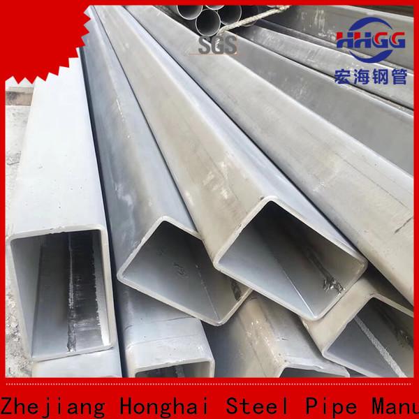 New stainless rectangular tube Suppliers bulk production