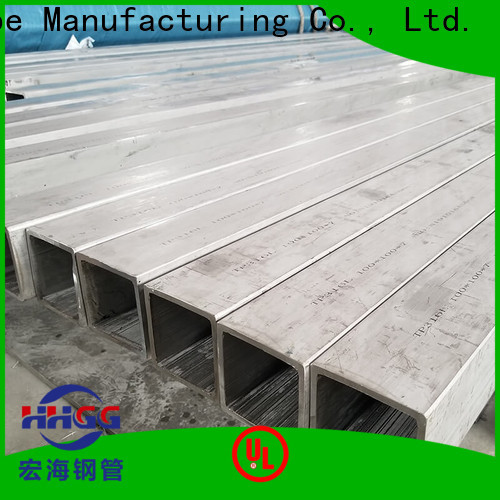 Top stainless square tube suppliers manufacturers bulk production