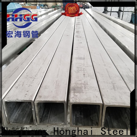 HHGG Best polished stainless steel square tubing Supply