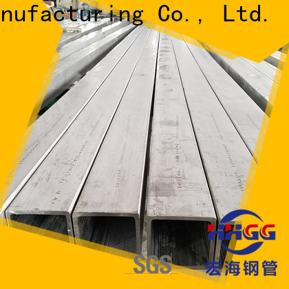 HHGG stainless square tube factory for sale