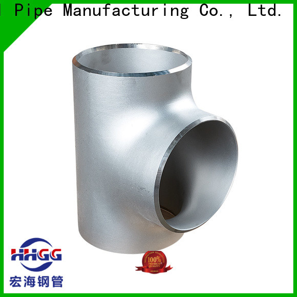 HHGG stainless pipe fittings Supply for promotion