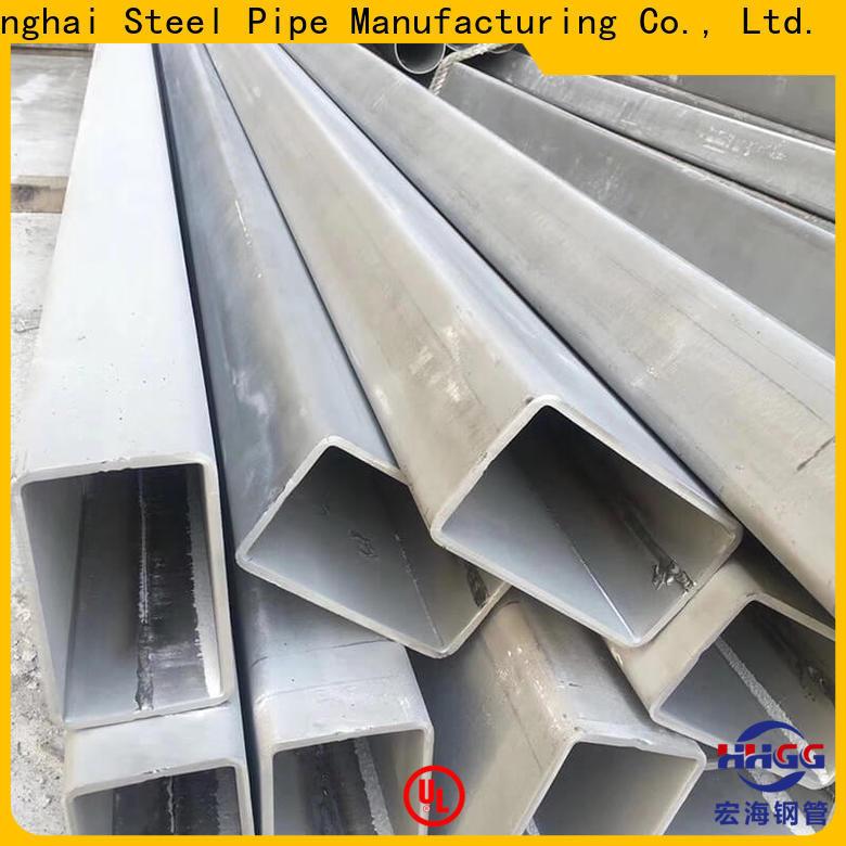 HHGG ss rectangular tube company bulk production