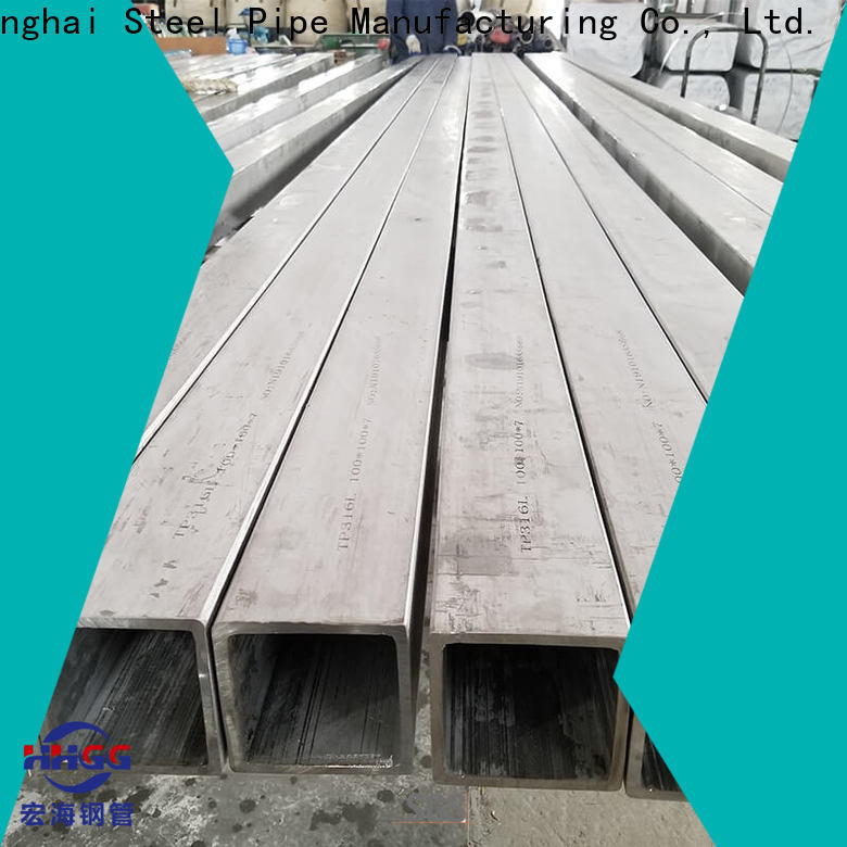 HHGG Wholesale stainless steel square tube suppliers company on sale
